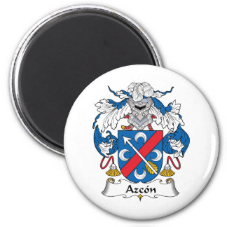 Escudo de la familia de Azcon Iman Para Frigorífico