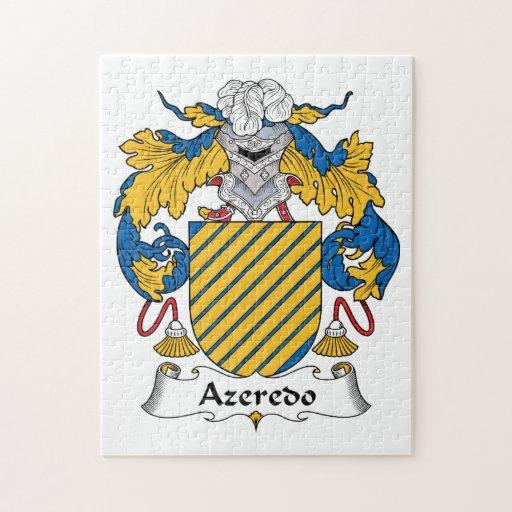 Escudo de la familia de Azeredo Puzzles