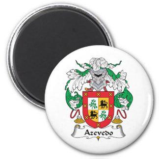 Escudo de la familia de Azevedo Imanes De Nevera
