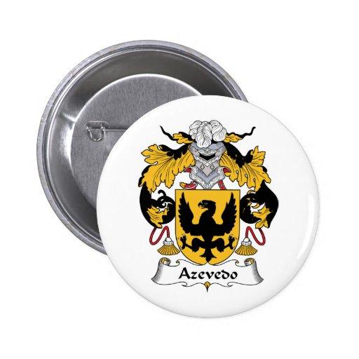 Escudo de la familia de Azevedo Pin