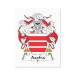 Escudo de la familia de Azofra Impresión En Lienzo Estirada