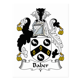Escudo de la familia de Baber Postal
