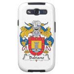 Escudo de la familia de Babiano Galaxy S3 Carcasa