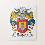 Escudo de la familia de Babiano Puzzles