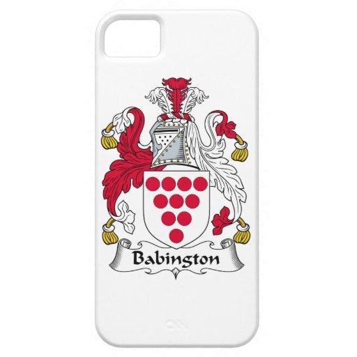 Escudo de la familia de Babington Funda Para iPhone 5 Barely There