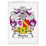 Escudo de la familia de Bacara Felicitacion