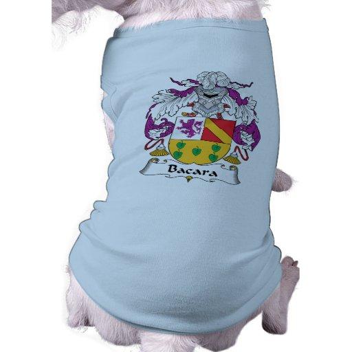 Escudo de la familia de Bacara Ropa Perro