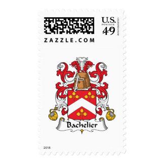 Escudo de la familia de Bachelier Sello