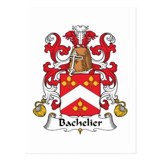 Escudo de la familia de Bachelier Tarjetas Postales