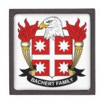 Escudo de la familia de Bachert Caja De Recuerdo De Calidad