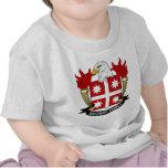Escudo de la familia de Bachert Camiseta