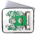 Escudo de la familia de Bachurin Funda Computadora
