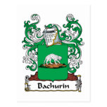 Escudo de la familia de Bachurin Postal