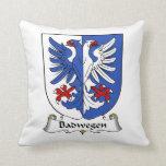 Escudo de la familia de Badwegen Cojin