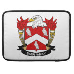 Escudo de la familia de Baer Fundas Para Macbook Pro