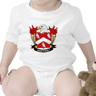 Escudo de la familia de Baer Traje De Bebé
