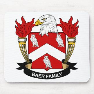 Escudo de la familia de Baer Alfombrilla De Ratón
