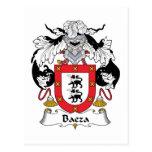 Escudo de la familia de Baeza Tarjetas Postales