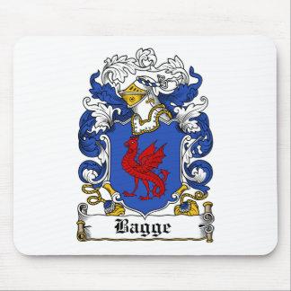Escudo de la familia de Bagge Alfombrillas De Raton