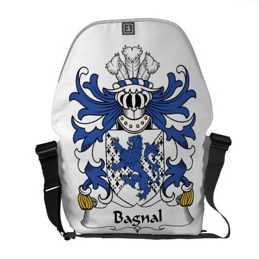 Escudo de la familia de Bagnal Bolsas De Mensajeria