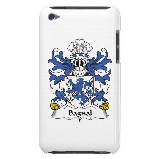 Escudo de la familia de Bagnal Barely There iPod Cárcasas