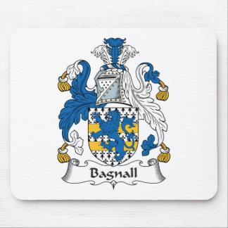 Escudo de la familia de Bagnall Alfombrillas De Ratones