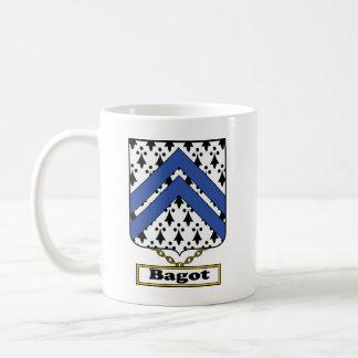 Escudo de la familia de Bagot Taza De Café