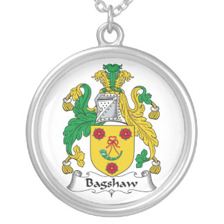 Escudo de la familia de Bagshaw Colgante Redondo