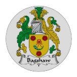 Escudo de la familia de Bagshaw Juego De Fichas De Póquer
