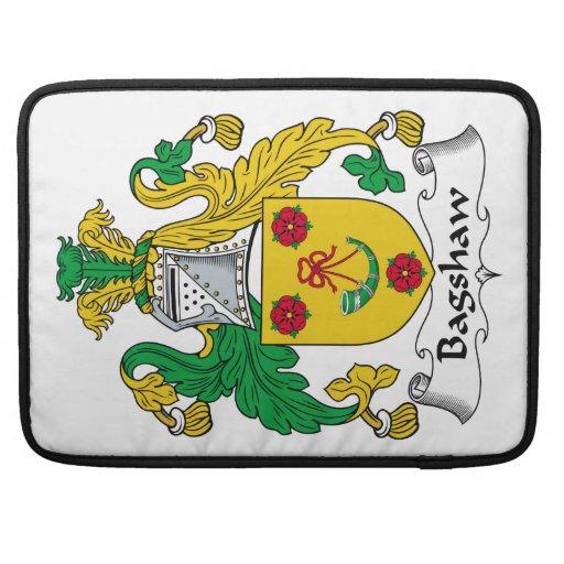 Escudo de la familia de Bagshaw Funda Para Macbooks