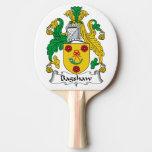 Escudo de la familia de Bagshaw Pala De Tenis De Mesa