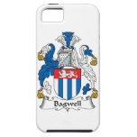 Escudo de la familia de Bagwell iPhone 5 Case-Mate Carcasa