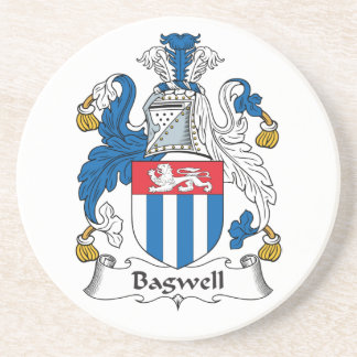 Escudo de la familia de Bagwell Posavasos Diseño