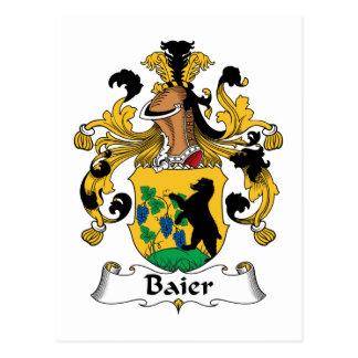 Escudo de la familia de Baier Postal