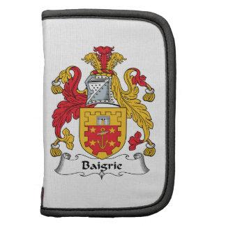Escudo de la familia de Baigrie Planificadores
