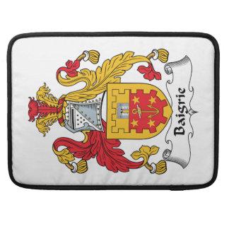 Escudo de la familia de Baigrie Fundas Macbook Pro