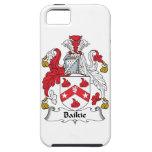 Escudo de la familia de Baikie iPhone 5 Fundas
