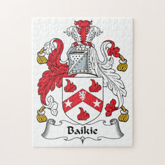 Escudo de la familia de Baikie Puzzle