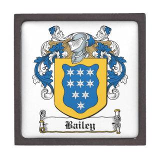 Escudo de la familia de Bailey Caja De Joyas De Calidad