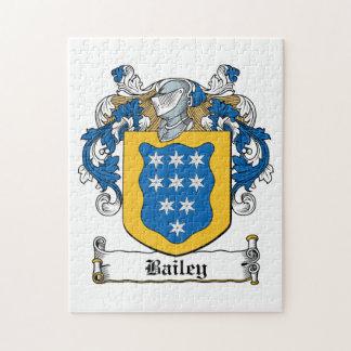Escudo de la familia de Bailey Rompecabezas Con Fotos