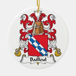 Escudo de la familia de Bailleul Ornato