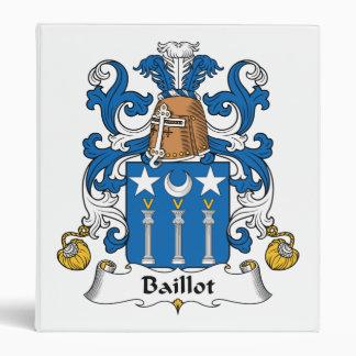 Escudo de la familia de Baillot