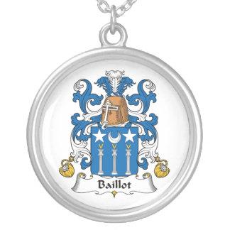 Escudo de la familia de Baillot Colgantes