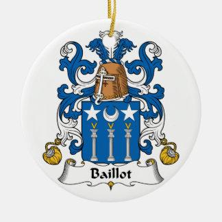 Escudo de la familia de Baillot Ornamentos De Reyes