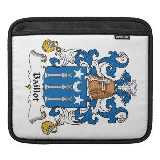 Escudo de la familia de Baillot Mangas De iPad