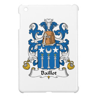 Escudo de la familia de Baillot iPad Mini Carcasas