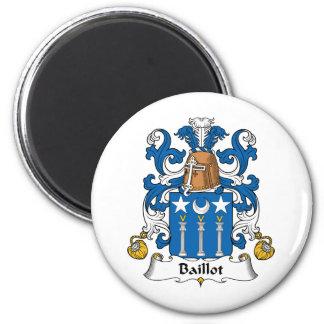 Escudo de la familia de Baillot Imanes