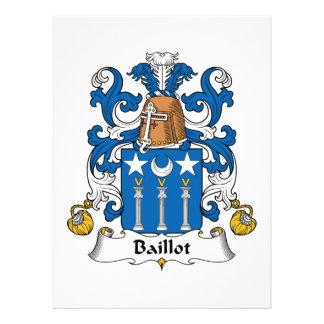 Escudo de la familia de Baillot Comunicado