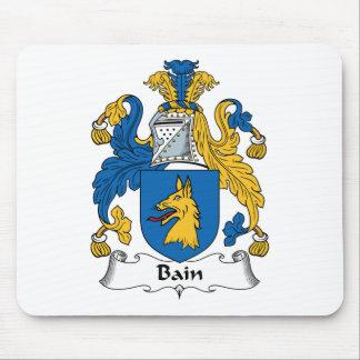 Escudo de la familia de Bain Tapetes De Ratones