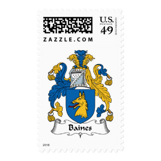 Escudo de la familia de Baines Envio